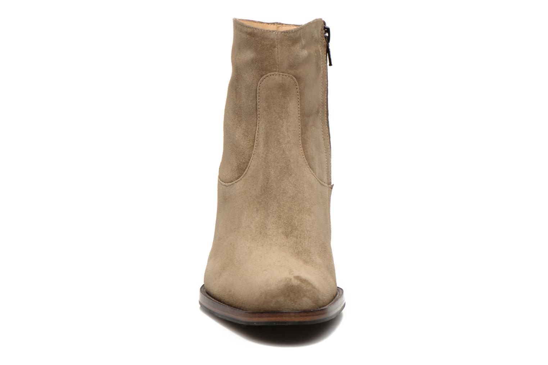 Bottines et boots Free Lance Legend 7 low zip boot Beige vue portées chaussures