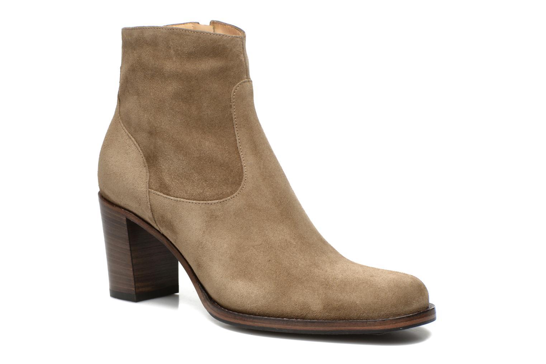 Bottines et boots Free Lance Legend 7 low zip boot Beige vue détail/paire