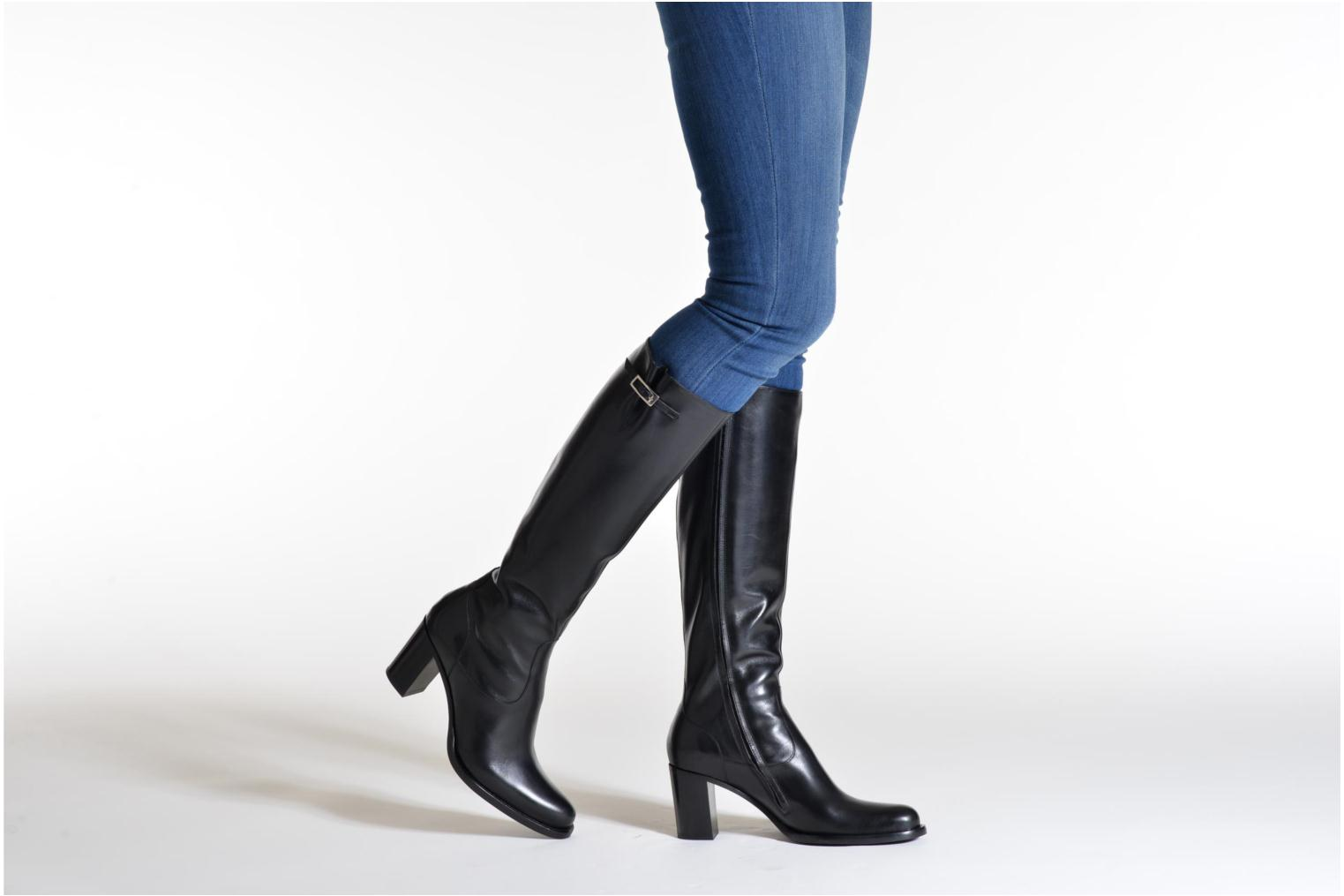 Boots & wellies Free Lance Legend 7 hight botte buckle Black view from underneath / model view
