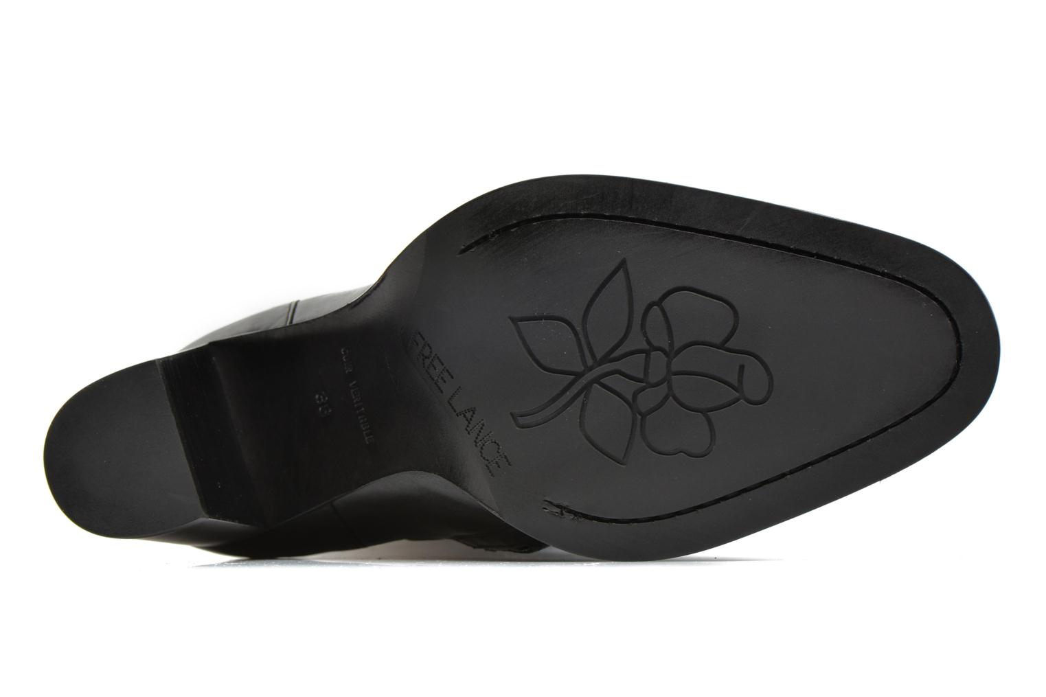 Boots & wellies Free Lance Legend 7 hight botte buckle Black view from above