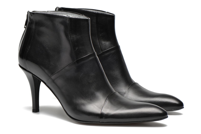 Bottines et boots Free Lance Jaspe 7 Low Zip Boots Noir vue 3/4
