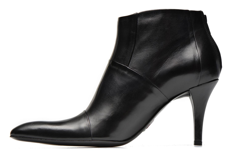 Bottines et boots Free Lance Jaspe 7 Low Zip Boots Noir vue face