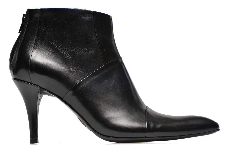 Bottines et boots Free Lance Jaspe 7 Low Zip Boots Noir vue derrière
