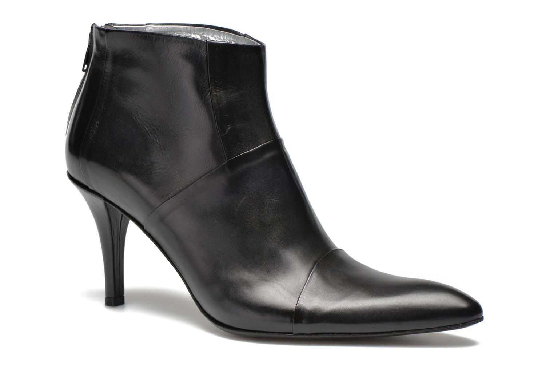 Bottines et boots Free Lance Jaspe 7 Low Zip Boots Noir vue détail/paire
