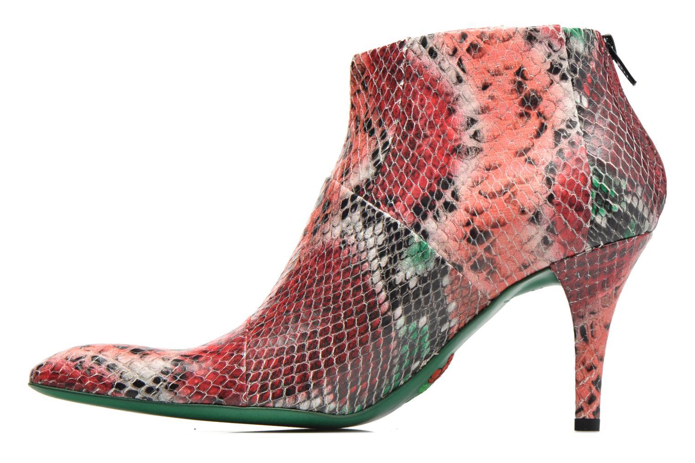 Stiefeletten & Boots Free Lance Jaspe 7 Low Zip Boots rot ansicht von vorne