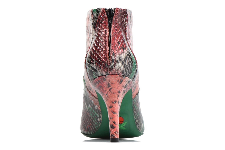 Jaspe 7 Low Zip Boots Smerald Rouge