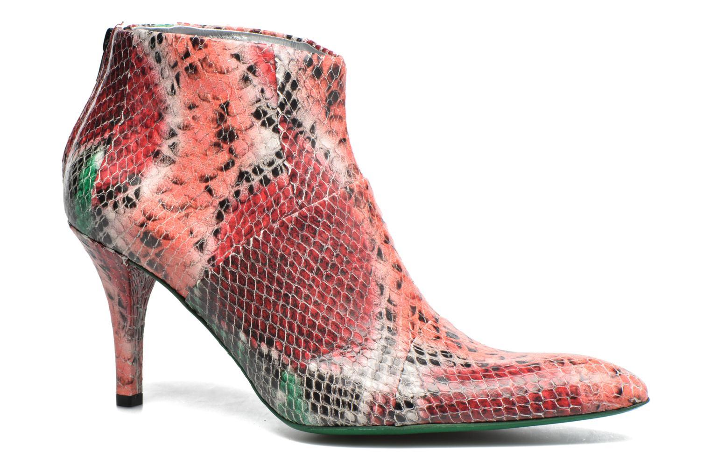 Bottines et boots Free Lance Jaspe 7 Low Zip Boots Rouge vue détail/paire
