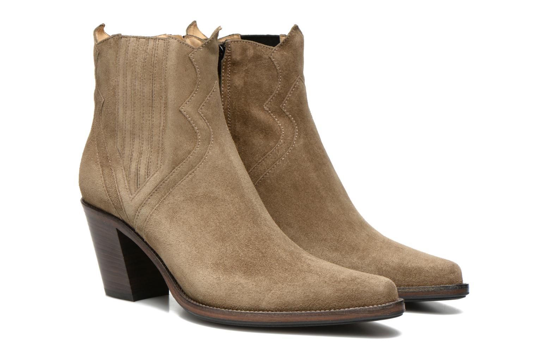Stiefeletten & Boots Free Lance Okao 7 west zip boot braun 3 von 4 ansichten