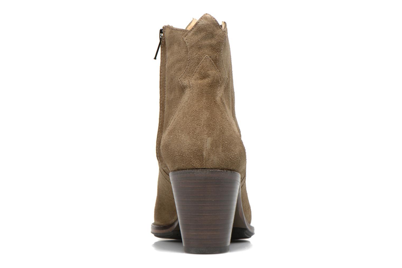 Stiefeletten & Boots Free Lance Okao 7 west zip boot braun ansicht von rechts