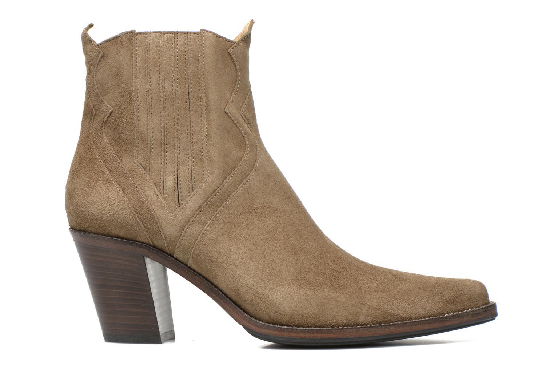 Bottines et boots Free Lance Okao 7 west zip boot Marron vue derrière