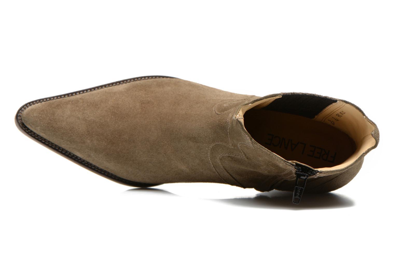 Stiefeletten & Boots Free Lance Okao 7 west zip boot braun ansicht von links