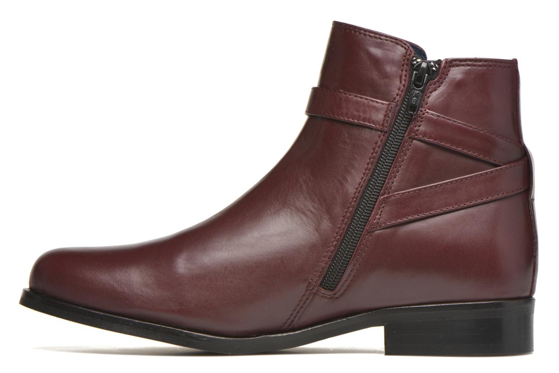 Bottines et boots PintoDiBlu Botania Bordeaux vue face