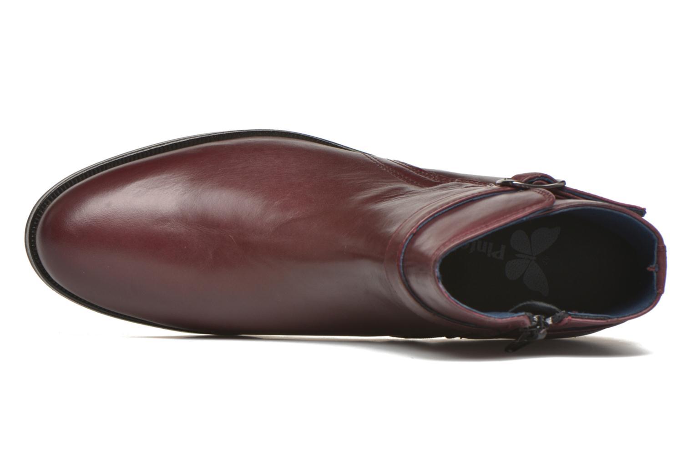 Bottines et boots PintoDiBlu Botania Bordeaux vue gauche