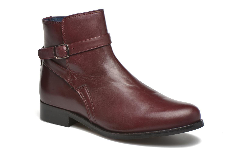 Bottines et boots PintoDiBlu Botania Bordeaux vue détail/paire