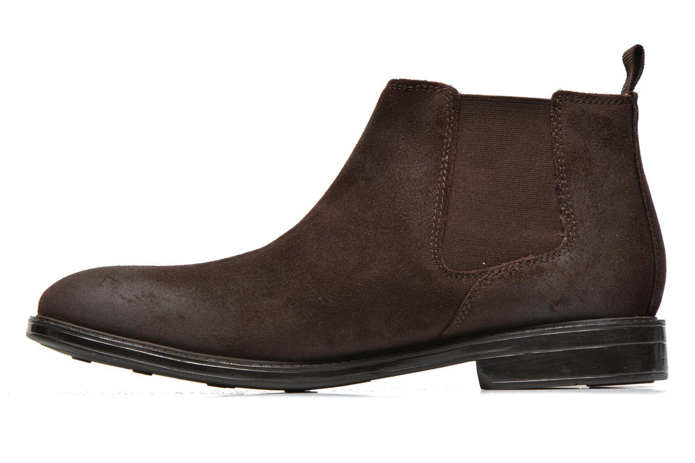Boots en enkellaarsjes Clarks Chilver Top Bruin voorkant