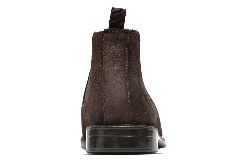 Boots en enkellaarsjes Clarks Chilver Top Bruin rechts