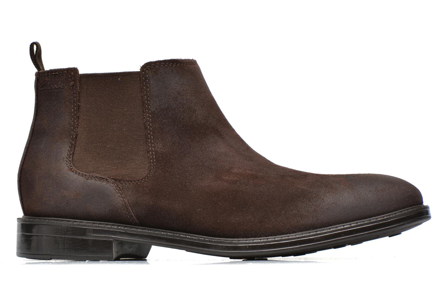 Botines  Clarks Chilver Top Marrón vistra trasera