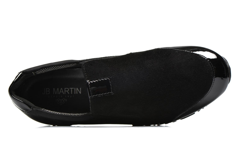 Baskets JB MARTIN Volt Noir vue gauche
