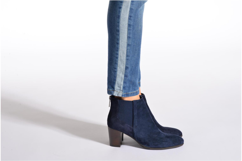 Bottines et boots JB MARTIN Candide Bleu vue bas / vue portée sac