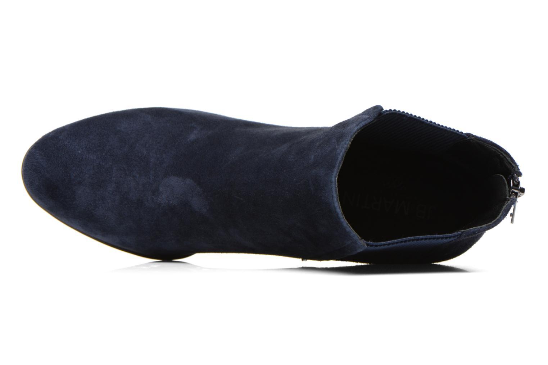 Candide Chevre Velours Bleu