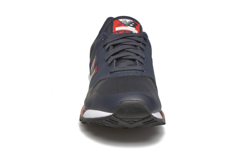 Baskets New Balance ML850 Bleu vue portées chaussures