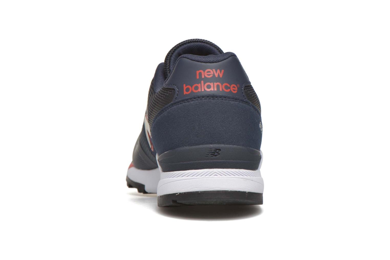 Baskets New Balance ML850 Bleu vue droite