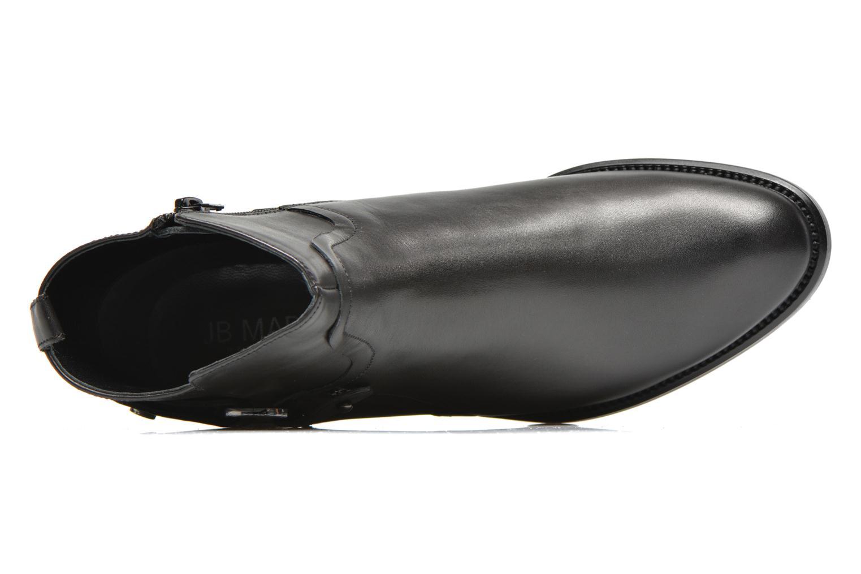 3Barcelone Veau Garnet Noir
