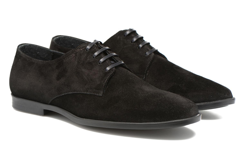 Zapatos con cordones Kenzo Justice Negro vista 3/4