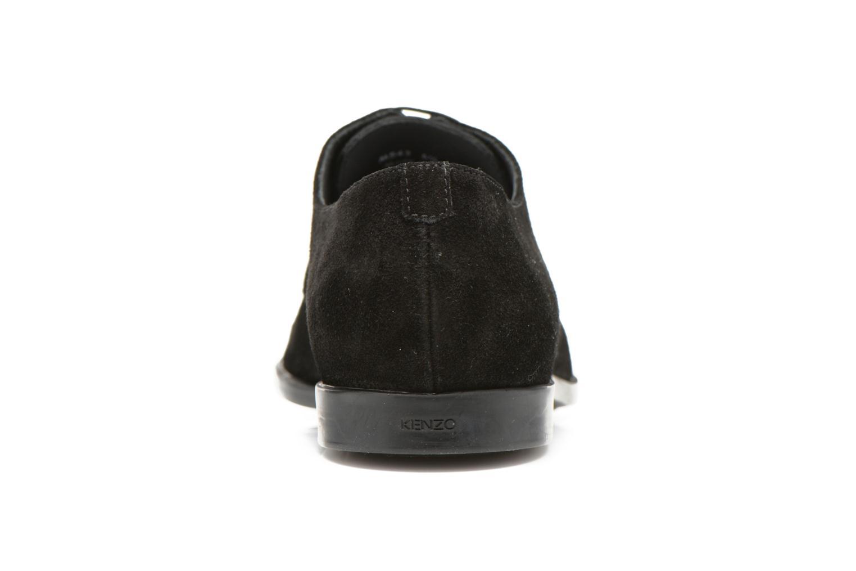 Zapatos con cordones Kenzo Justice Negro vista lateral derecha