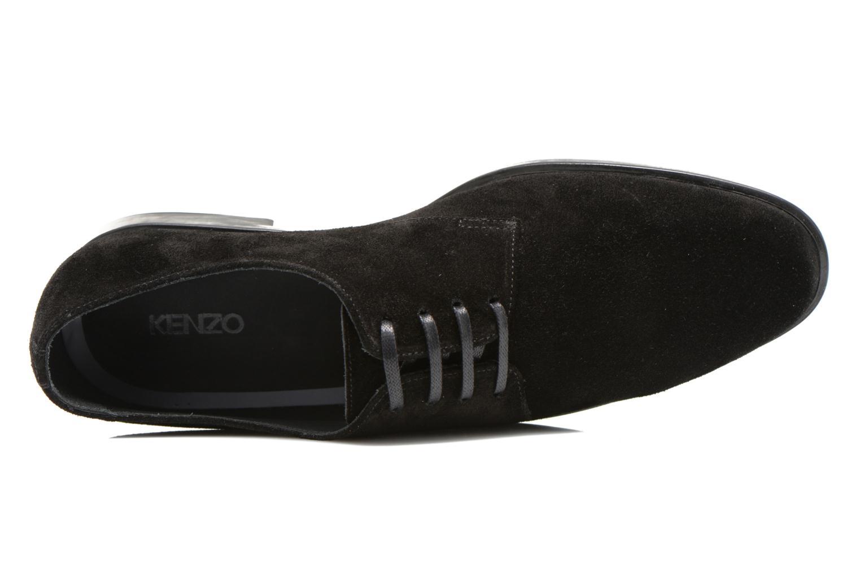 Zapatos con cordones Kenzo Justice Negro vista lateral izquierda