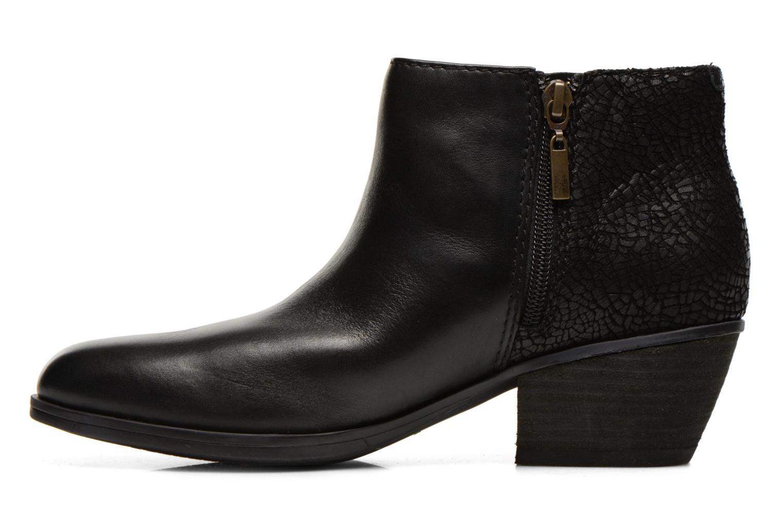 Bottines et boots Clarks Gelata Italia Noir vue face