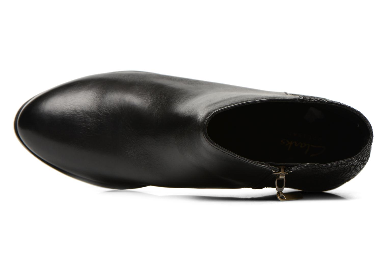 Bottines et boots Clarks Gelata Italia Noir vue gauche
