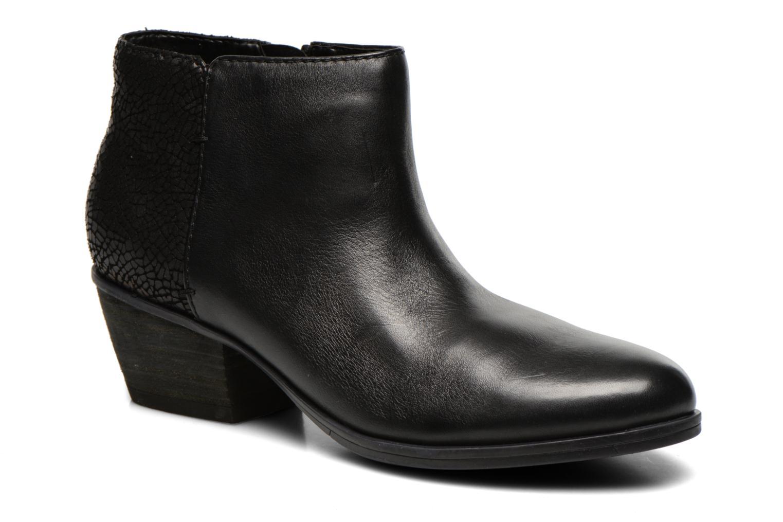 Bottines et boots Clarks Gelata Italia Noir vue détail/paire