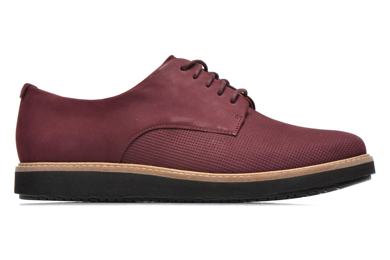 Chaussures à lacets Clarks Glick Darby Bordeaux vue derrière