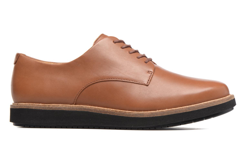 Chaussures à lacets Clarks Glick Darby Marron vue derrière