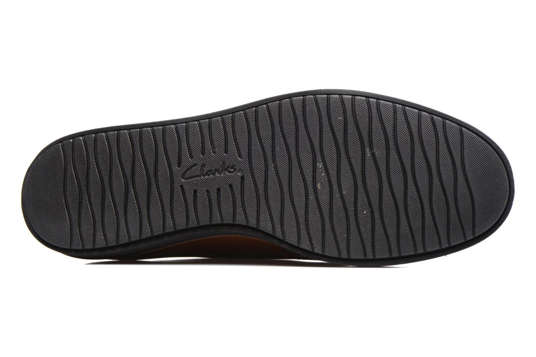 Chaussures à lacets Clarks Glick Darby Marron vue haut