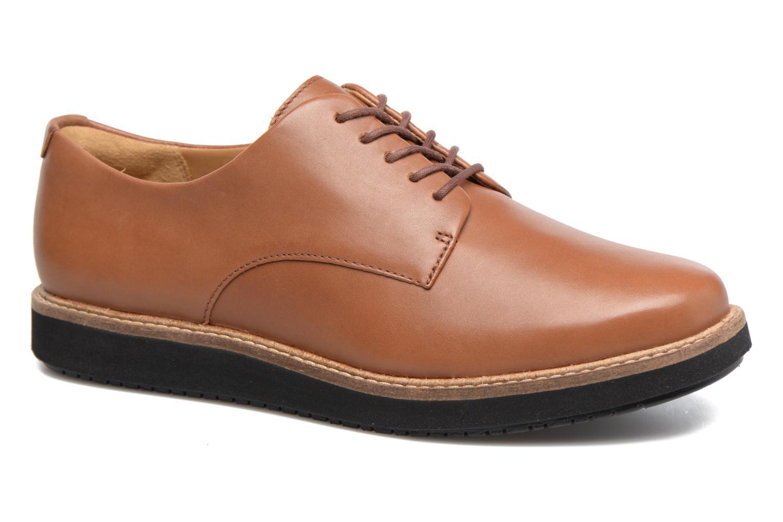 Chaussures à lacets Clarks Glick Darby Marron vue détail/paire