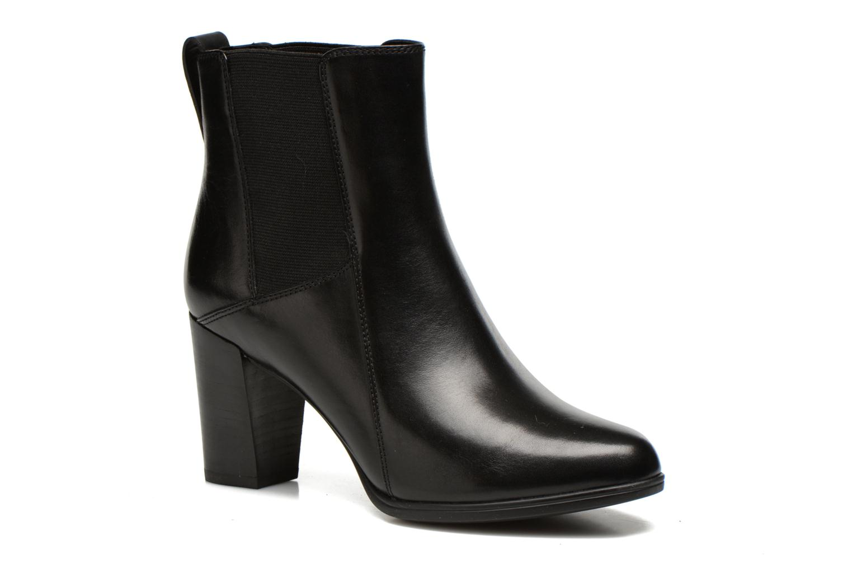 Boots en enkellaarsjes Clarks Kadri Liana Zwart detail