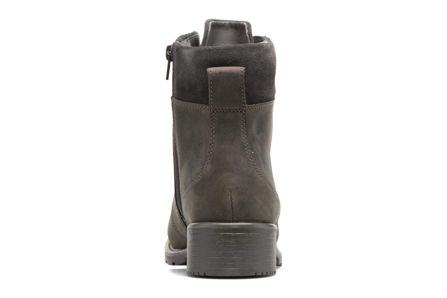 Ankle boots Clarks Orinoco Spice Grey view from the right