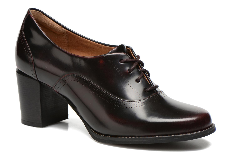 Tarah Victoria Burgundy leather