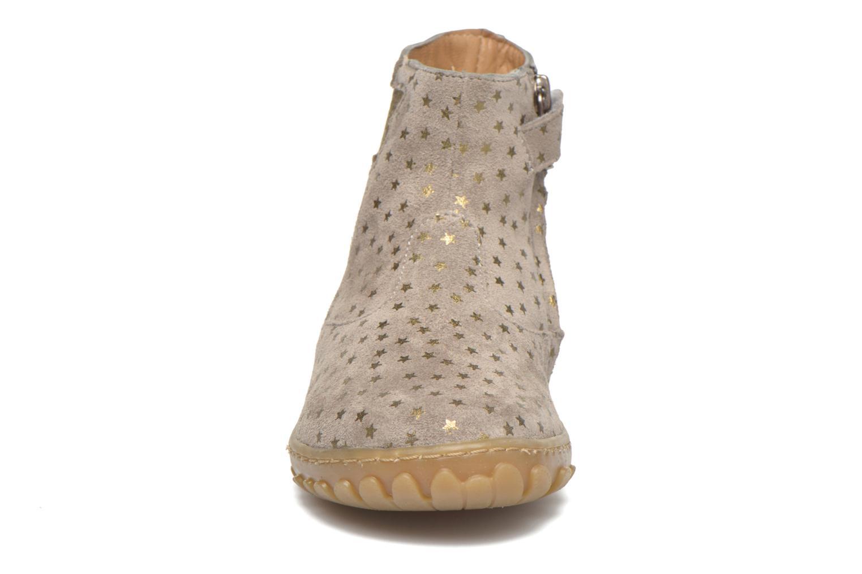 Cute boots cat mini star Dark Beige-Or