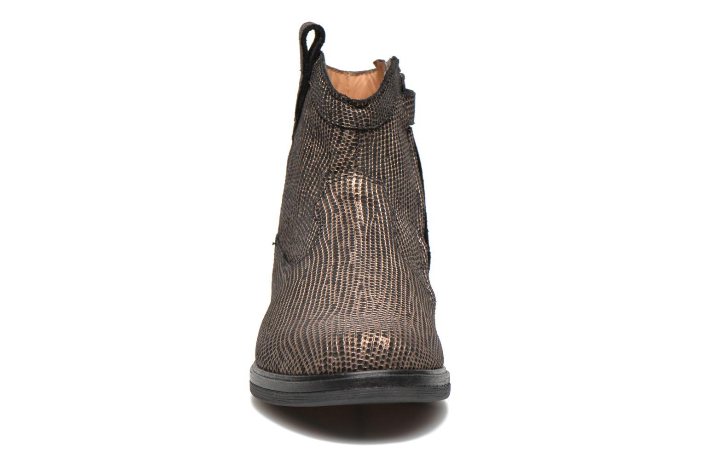 Bottines et boots Pom d Api Hobo boots sivar Or et bronze vue portées chaussures