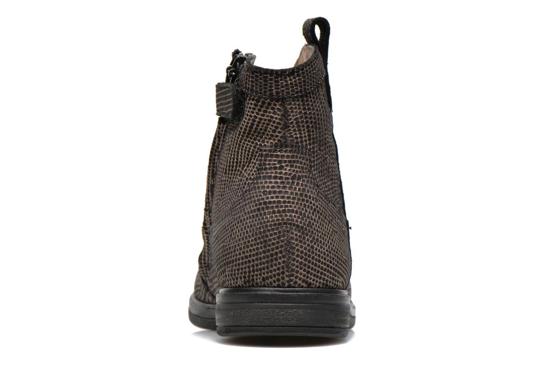 Bottines et boots Pom d Api Hobo boots sivar Or et bronze vue droite