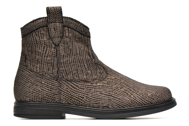 Bottines et boots Pom d Api Hobo boots sivar Or et bronze vue derrière