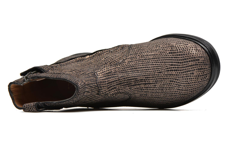 Bottines et boots Pom d Api Hobo boots sivar Or et bronze vue gauche