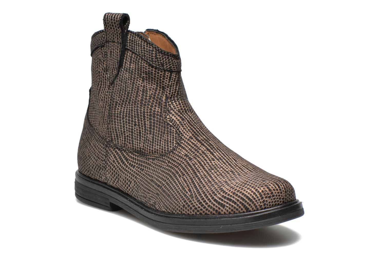 Bottines et boots Pom d Api Hobo boots sivar Or et bronze vue détail/paire