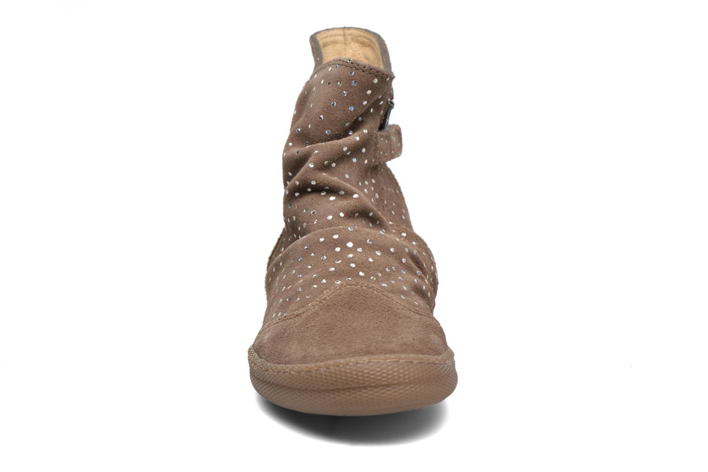 Bottines et boots Pom d Api New school pleats golden Beige vue portées chaussures