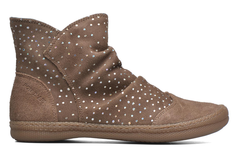 Boots en enkellaarsjes Pom d Api New school pleats golden Beige achterkant