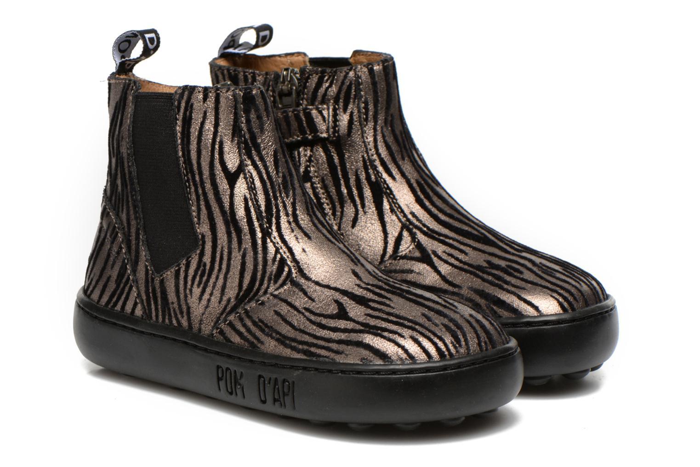Bottines et boots Pom d Api Walk jodpur basic fixell Noir vue 3/4