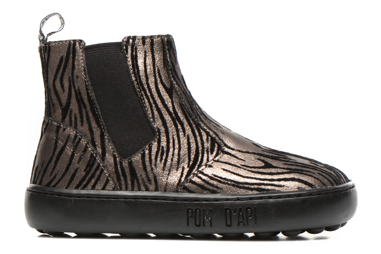 Bottines et boots Pom d Api Walk jodpur basic fixell Noir vue derrière